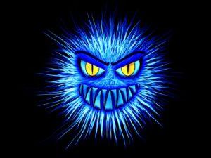 Virus bleu