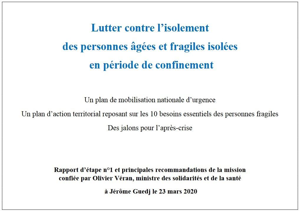 rapport de Jérôme Guedj