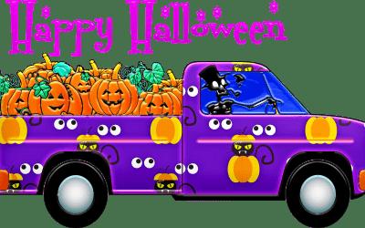 Halloween… histoire effrayante, villes fantôme et films d'horreur !