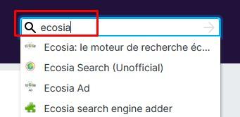 Firefox paramètres moteur 8