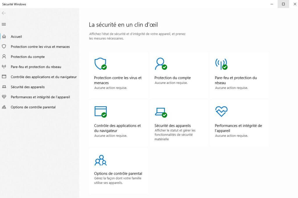 analyse Windows Defender