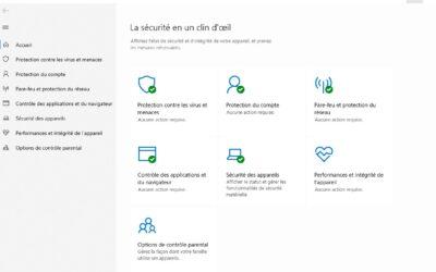 Faire une analyse antivirus avec Windows Defender