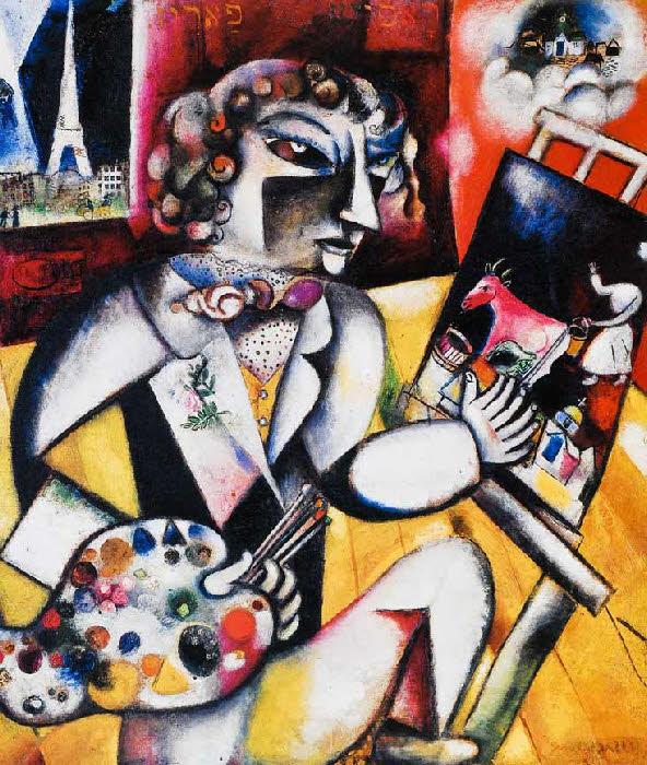 autoportrait Chagall