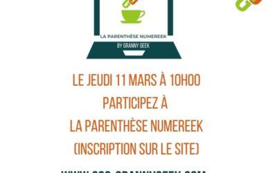 La Parenthèse Numereek du 11 mars 2021 : Les gestes de premiers secours en cas d'arnaque en ligne