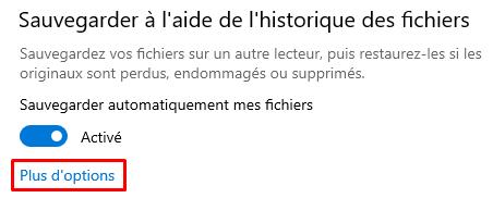 sauvegarde Windows 5